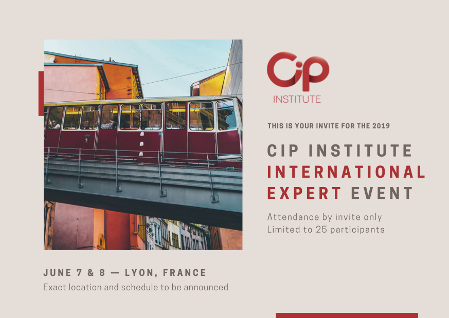 CIP Institute International Expert Event